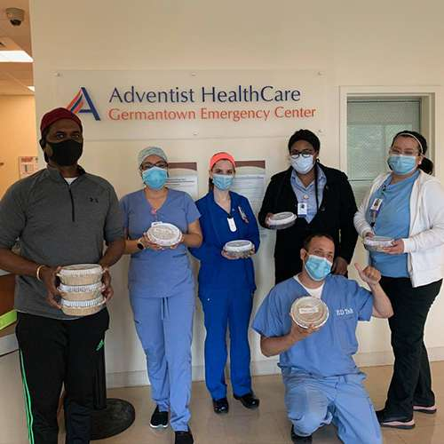 community free food for healthcare workers